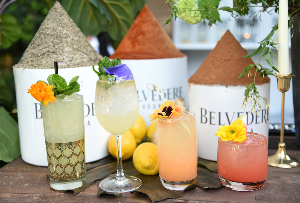 Belvedere Vodka on display at Rachel Zoe's 4th Annual ZOEasis at Parker Palm Springs on April 13, 2018 in Palm Springs, California. Photo Credit: Michael Kovac/Getty Images for Belvedere Vodka.