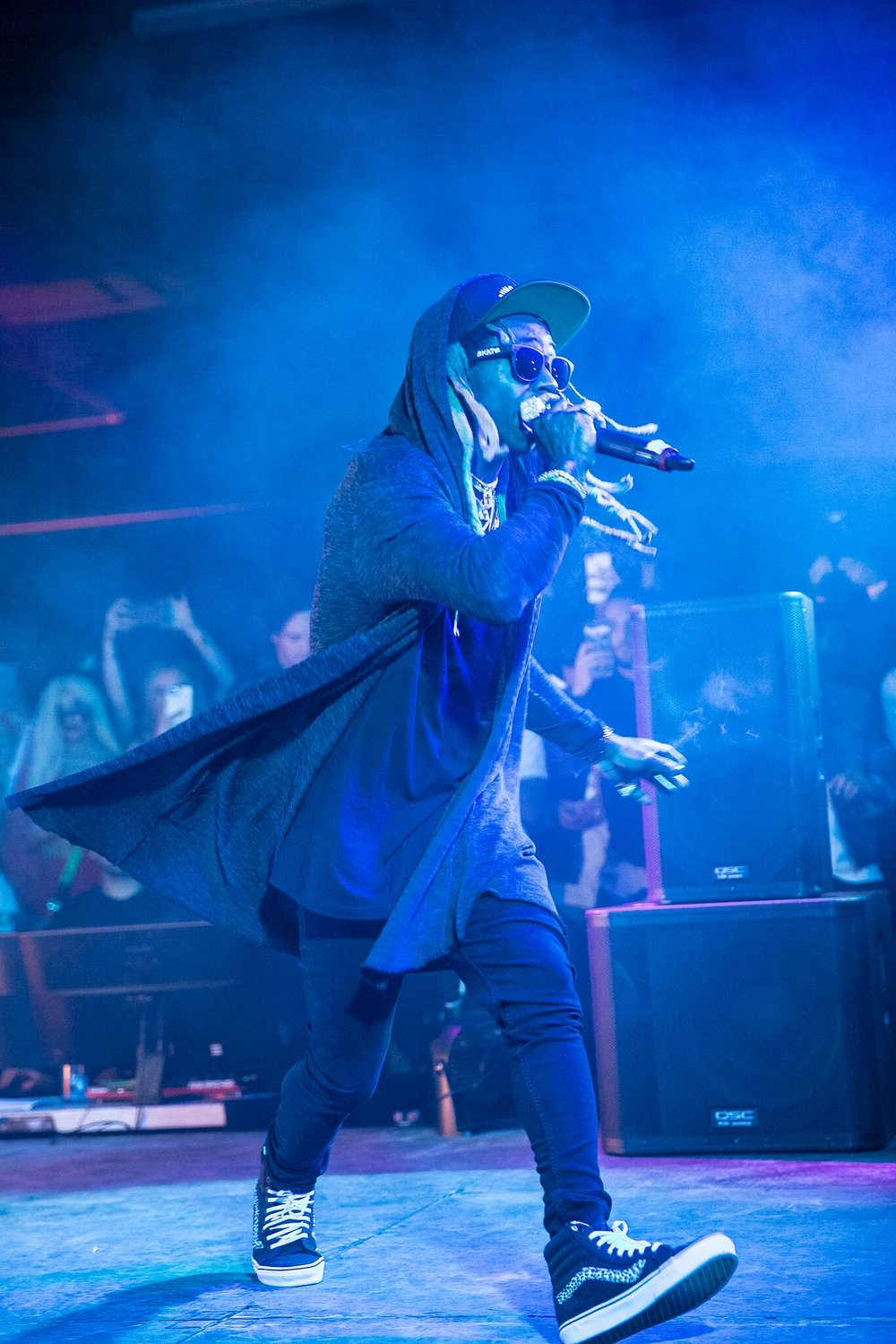 Lil' Wayne Performed a Few Hits at the nANA jUDY Party! Photo Credit: Lady Drewniak