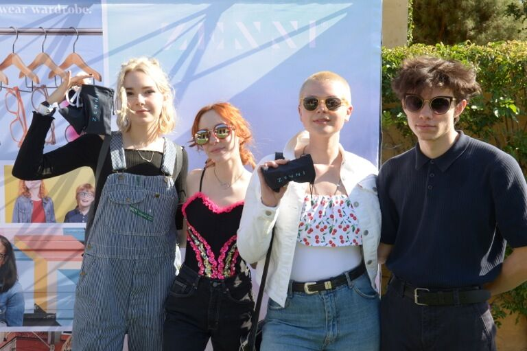 The Regrettes! Photo Courtesy of GBK