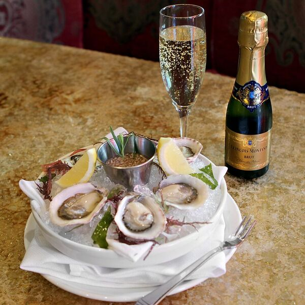 Magical Combo - Oysters  Champagne! YES PLEASE!  Photo Credit: Cathy Arkle