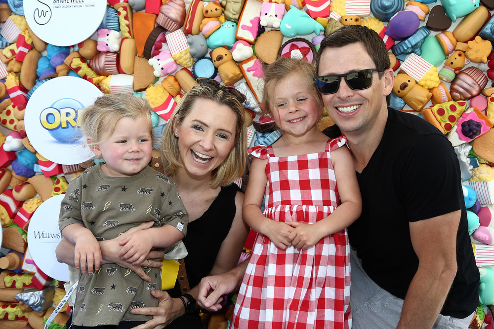 "Former ""7th Heaven"" star Beverley Mitchell and Family attend the We All Play by ShareWell at the future home of the Cayton Children's Museum at Santa Monica Place.  Photo Credit:  Tommaso Boddhi"