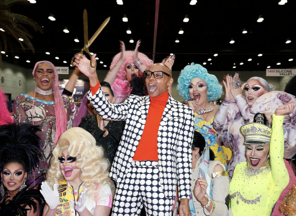 RuPaul and The Gang at the 4th Annual DragCon in LA! Photo Credit: Movi Inc for World of Wonder.