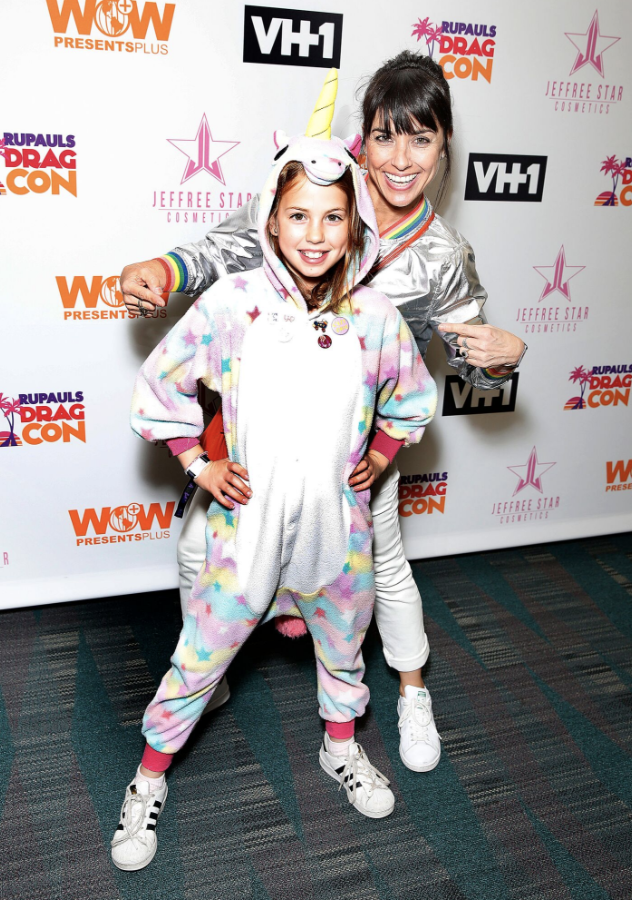 Constance Zimmer & Her Daughter Show Their Spirit at DragCon LA! Photo Credit: Movi Inc for World of Wonder.