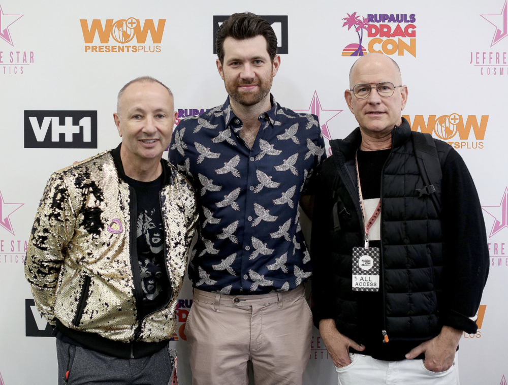 Billy Eichner at the 4th Annual DragCon LA! Photo Credit: Movi Inc for World of Wonder.