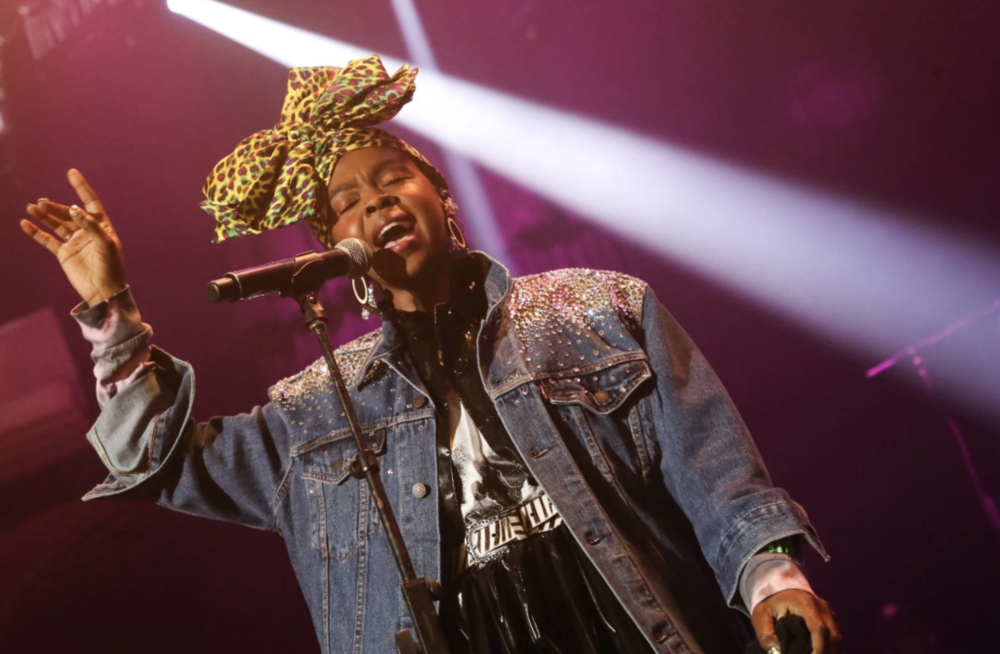 Lauryn Hill Surprised Guests with an AMAZING Performance of Classic Hits! Photo Credit: Chelsea Lauren/ WWD/REX/ Shutterstock