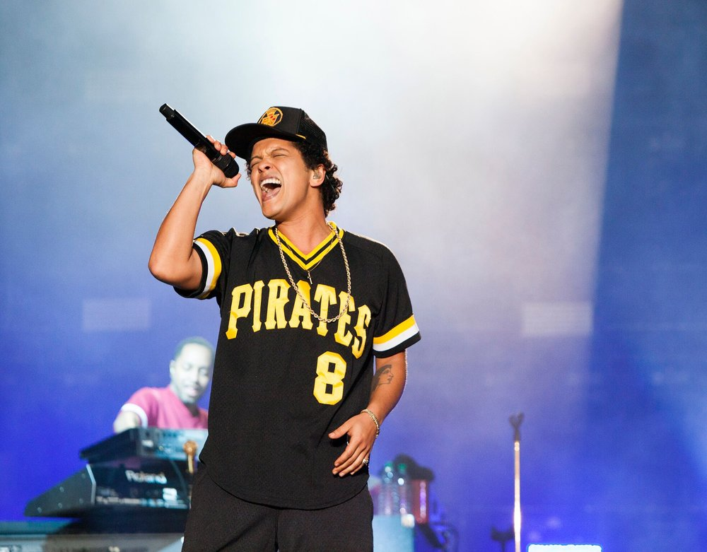 Bruno Mars Doing What He Does Best! Photo Credit: BottleRock Napa Valley