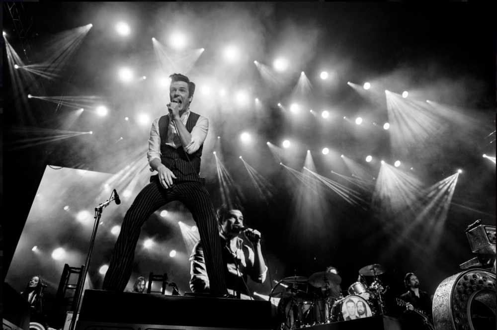 Brandon Flowers of The Killers! Photo Credit: BottleRock Napa Valley