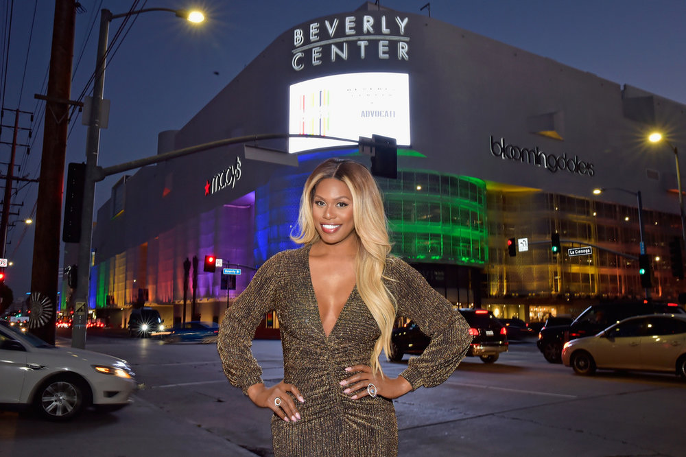 Laverne Cox celebrates at Beverly Center and The Advocates Champions of PRIDE Event on June 1, 2018 in Los Angeles, California. Photo Credit: Stefanie Keenan/Getty Images for Beverly Center.