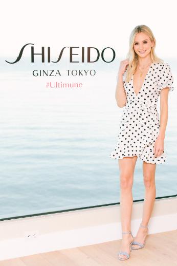 Lauren Bushnell was ALL Smiles at the New Shiseido Ultimune US Launch in Malibu. Photo Credit: Jennifer Johnson