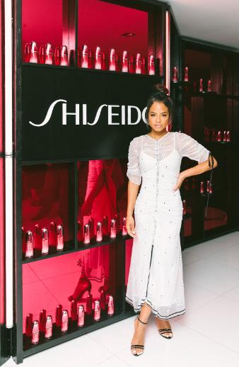 Christina Milian attends the New Shiseido Ultimune US Launch in Malibu. Photo Credit: Jennifer Johnson