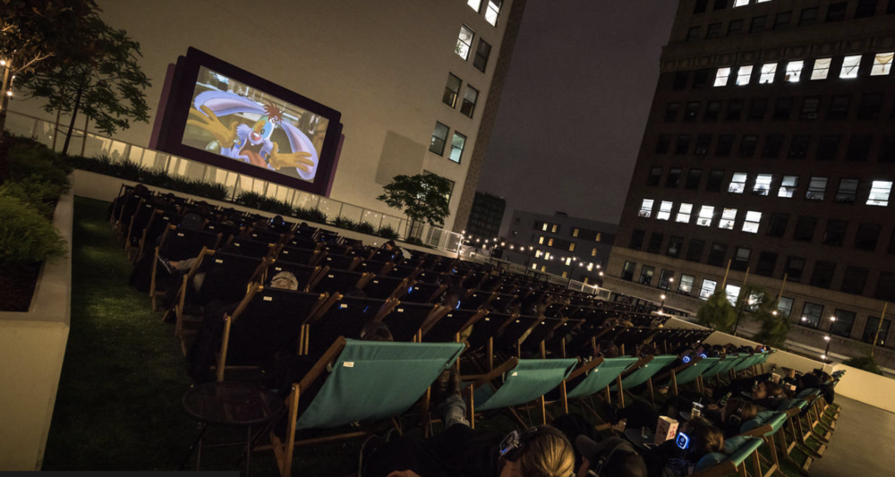 Photo Courtesy of Rooftop Cinema Club