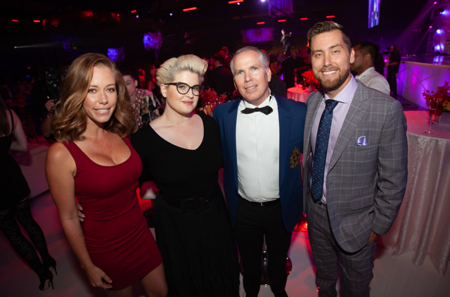Kendra Wilkinson, Kelly Osbourne, Thomas J. Henry and Lance Bass were all smiles as they attended  Thomas J. Henry Law Firm's celebration of 25 Years Of Excellence event  produced by celebrity   production  designer Dylan Marer at the Henry B. Gonzalez Convention Center on Saturday, August 18th, 2018 in San Antonio, TX. Photo Credit:  Johnny Nunez/Getty Images