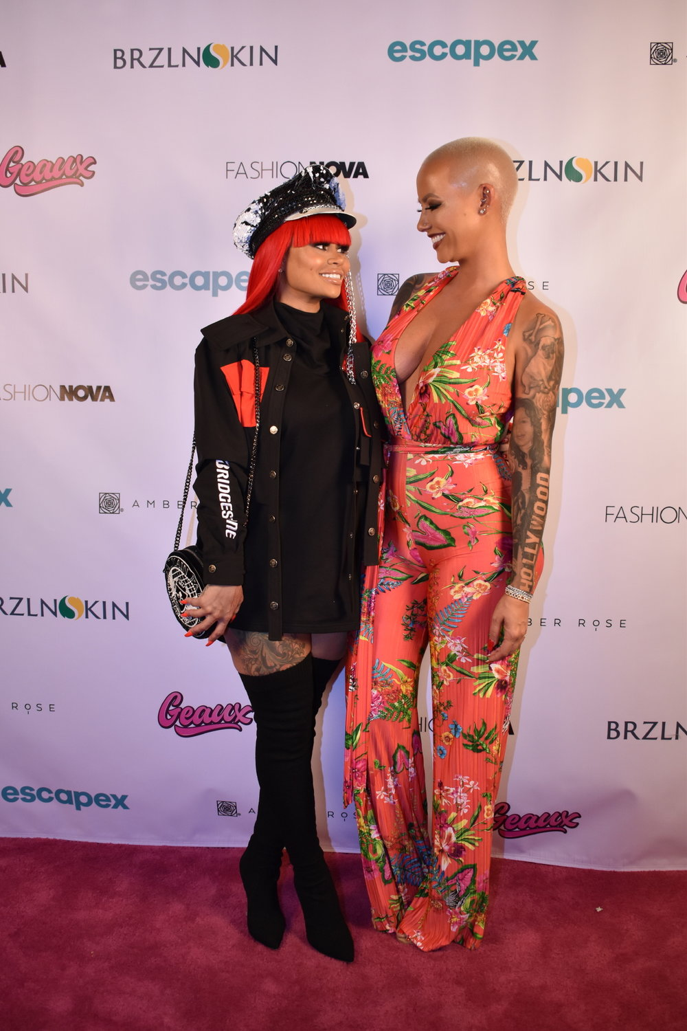 Blac Chyna Came to Support Her Dear Friend at the App Launch Party at Peppermint Club!Photo Credit: Sophie Kautz