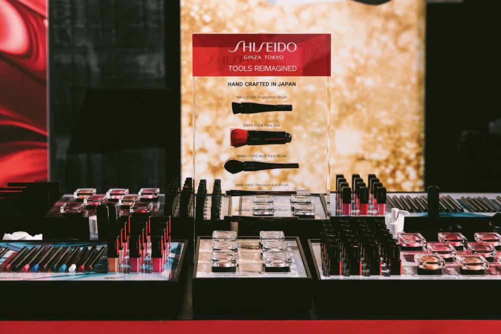 New Shiseido makeup at the Shiseido Makeup Master Class. Photo Credit: Jennifer Johnson