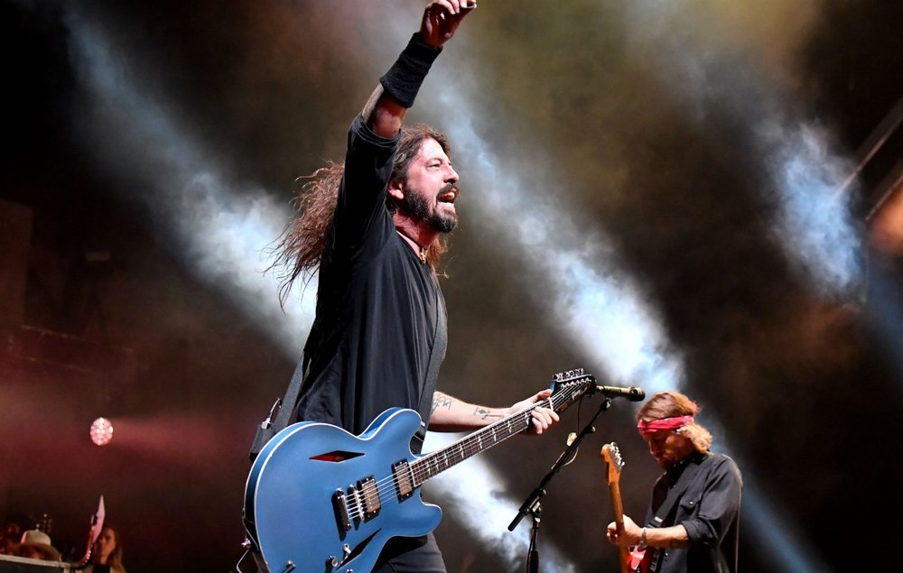 Foo Fighters' Dave Grohl Photo Credit: Getty Images