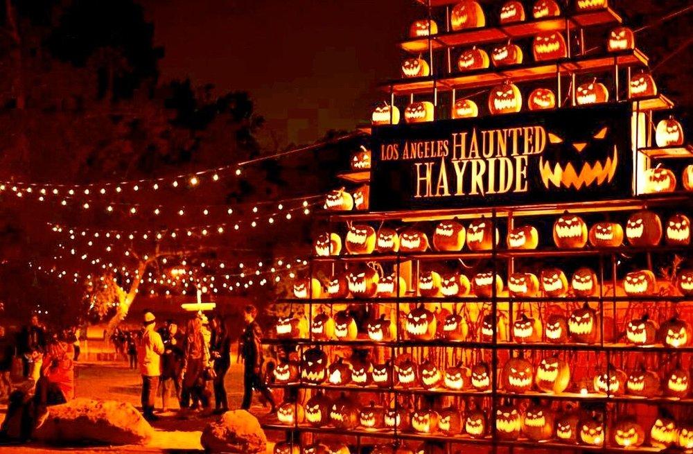 The Los Angeles Haunted Hayride Celebrates its 10th Year! Photo Credit: Scott Feinblatt.