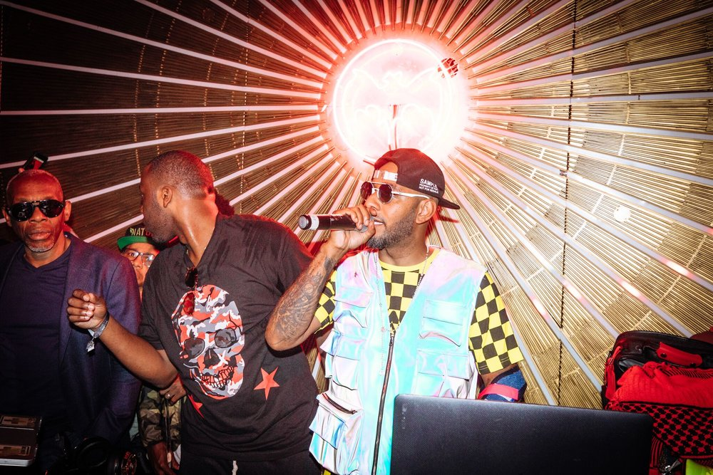 Swizz Beats Performs at the BACARDI Rum Room in Los Angeles. Photo Credit: Alexander Eggebeen