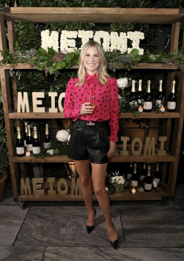 Ali Larter Looked Radiant at the Meiomi Holiday Event! Photo Credit: Getty Images