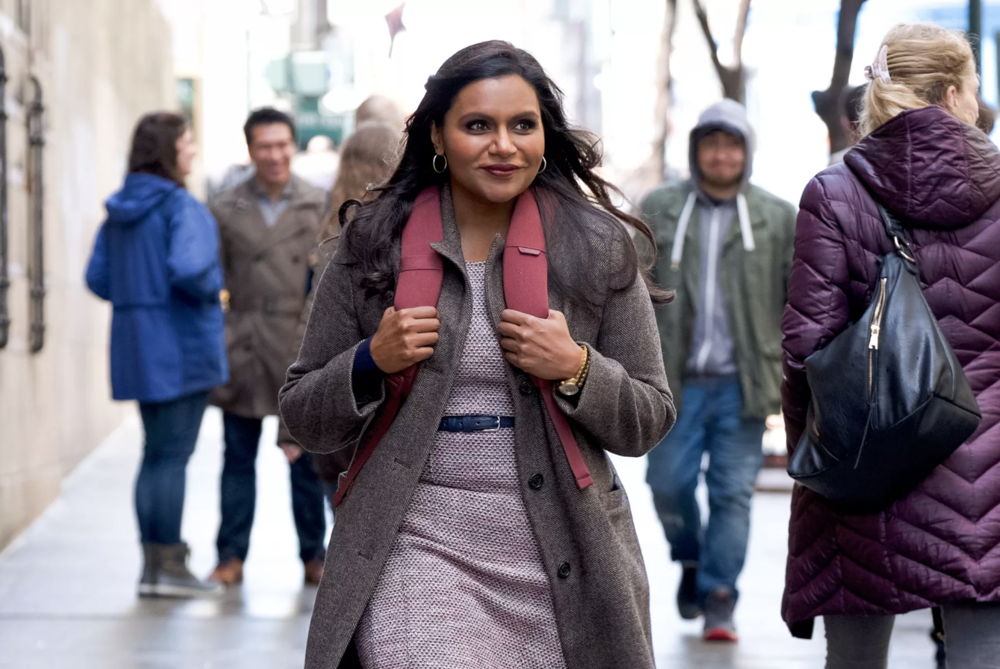Mindy Kaling in  Late Night . Photo Credit: Emily Aragones/Sundance Institute