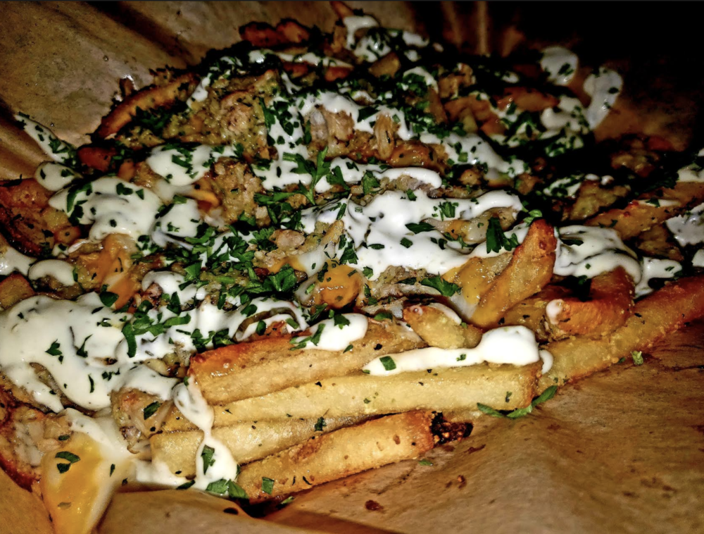 The Crab Fries - A Seafood Lovers Dream!
