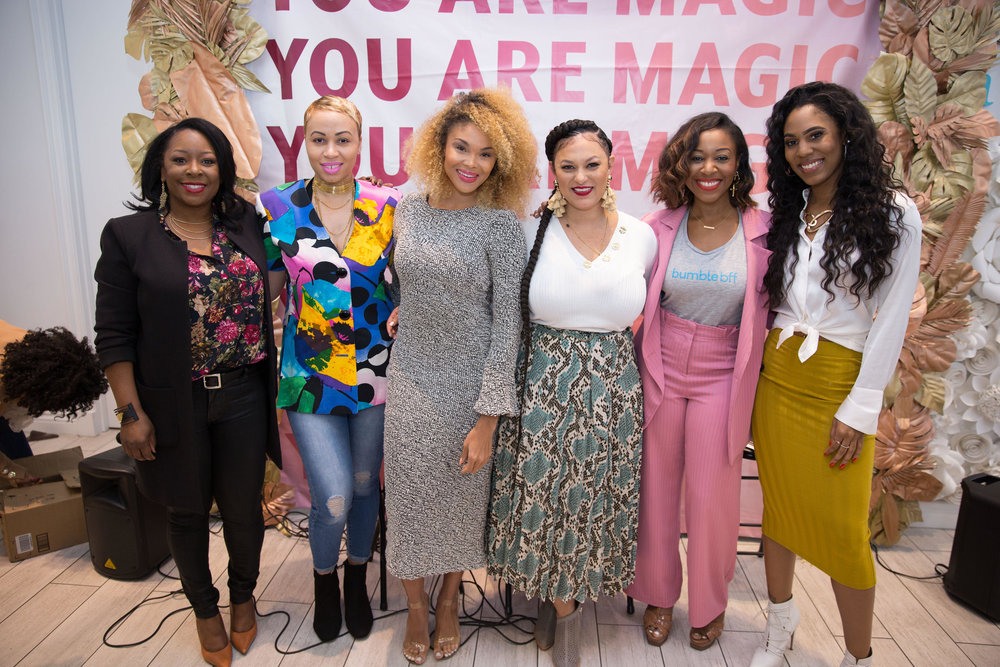 Black Girl Magic Tour - Los Angeles Presented by Marty McDonald & Boss Women Media with Sugarfina & Bumble BFF in Los Angeles, Ca on Saturday, February 16th, 2019. Courtesy Photo