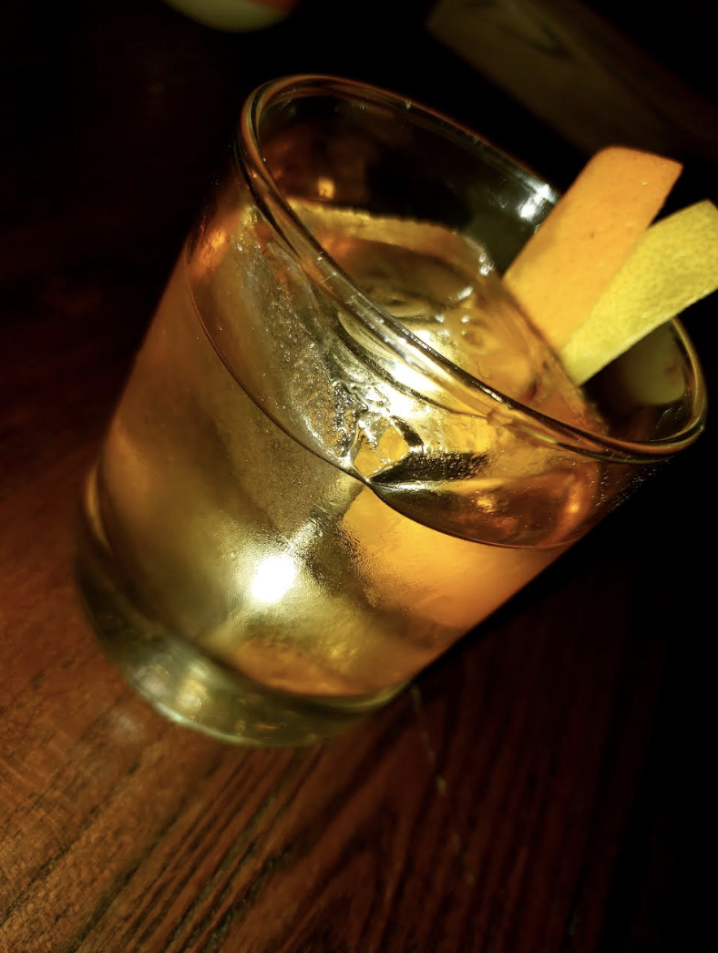 The Old-Fashion Made with Coconut Cartel is Worth a Try!