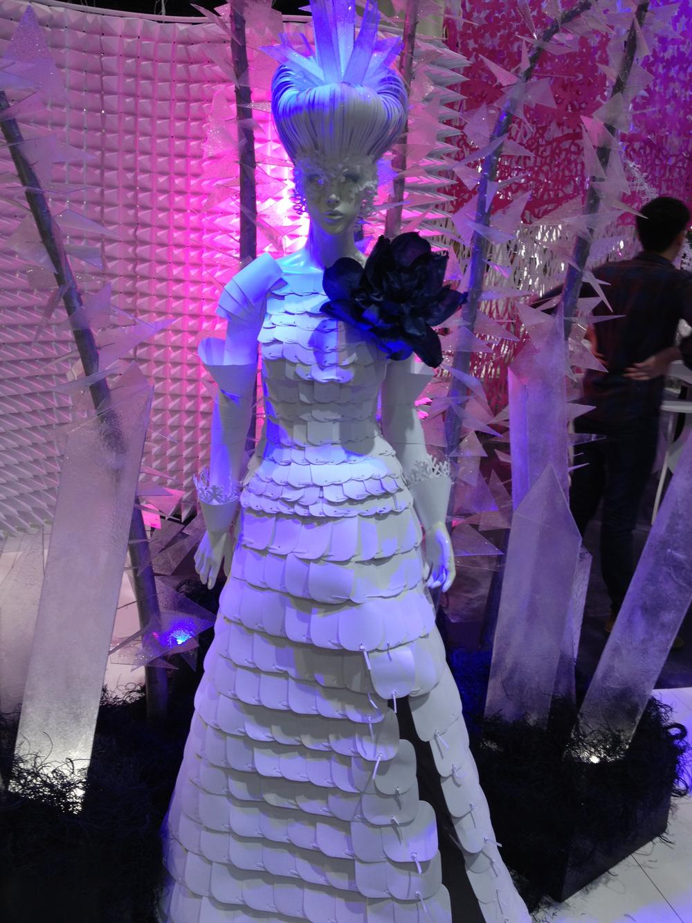 ICE QUEEN WARRIOR DRESS