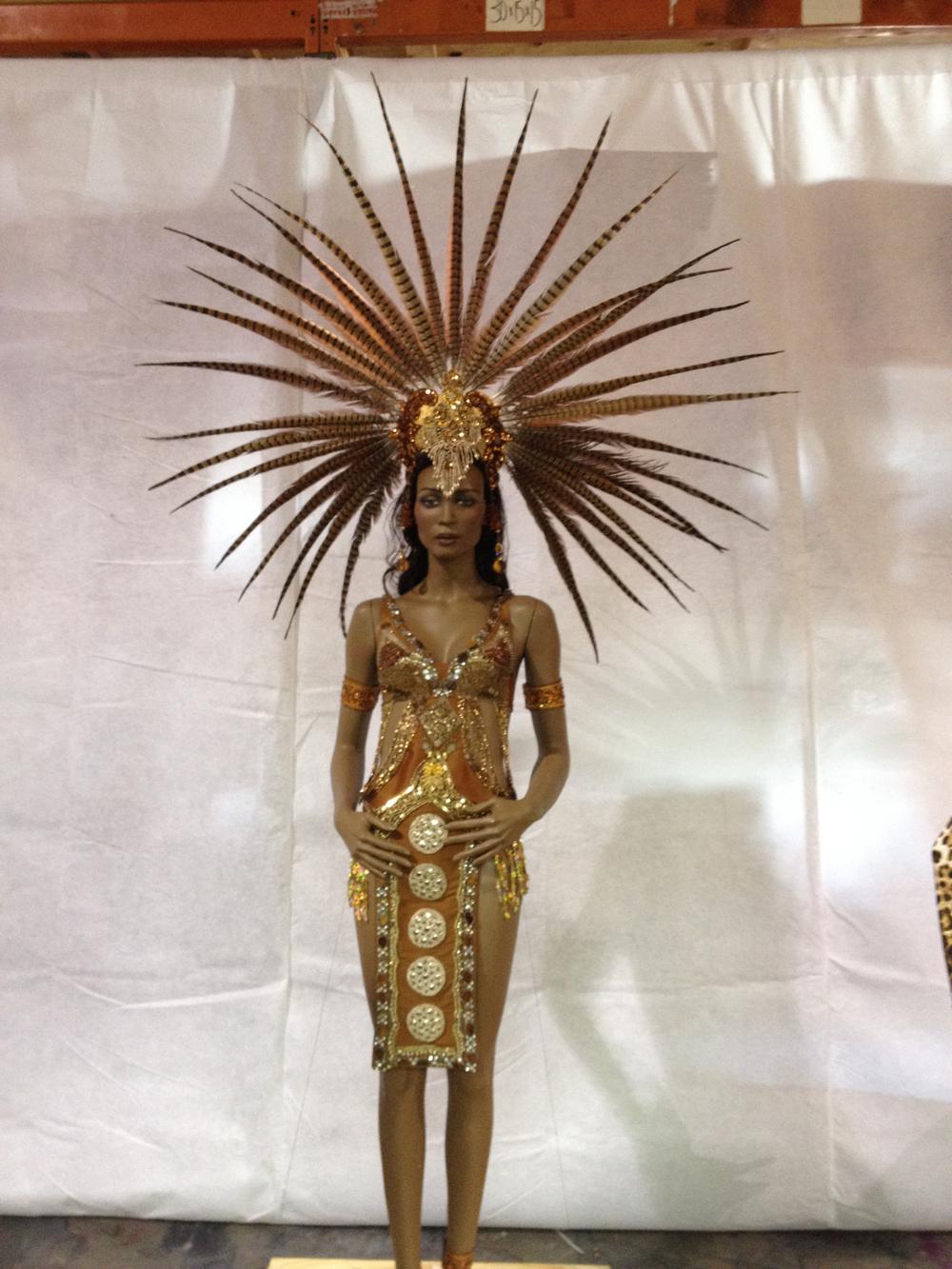 Carnival Woman