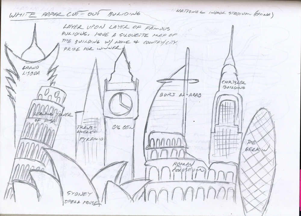 PAPPER CITY SKETCH