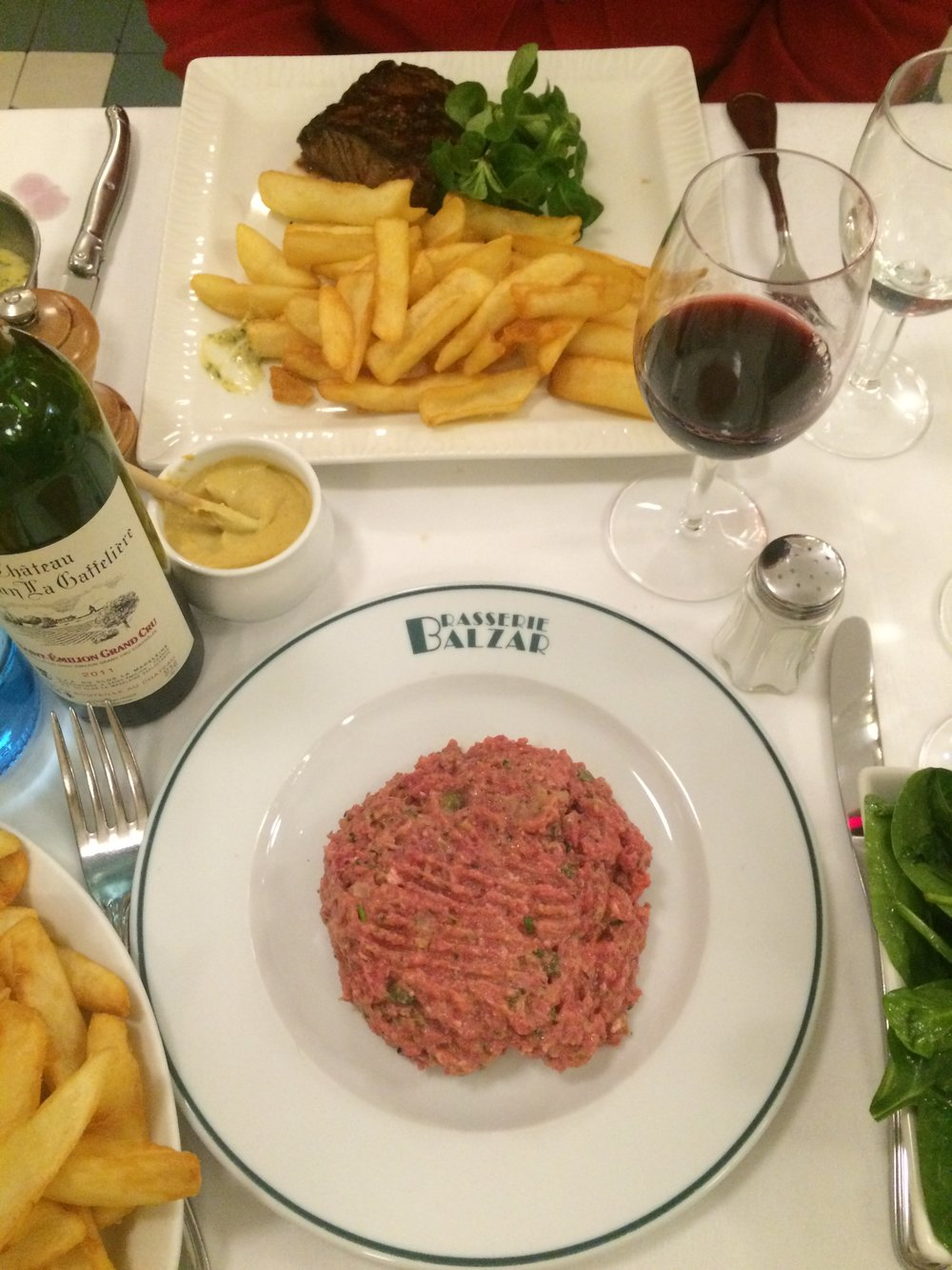 Brasserie Balzar // Alice Waters recommend the place to me as one of her favorite spots in Paris when she lived there. This old-school institution serves tasty steak frites, dover sole. Great for people watching too.