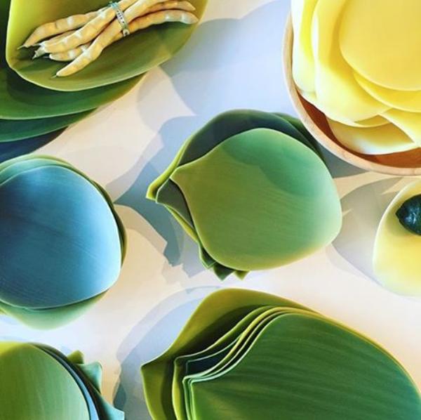 Leaf Serving Plates