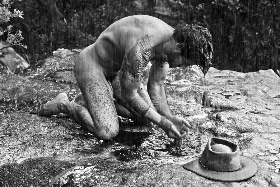 Granger adult nude men in rain nude