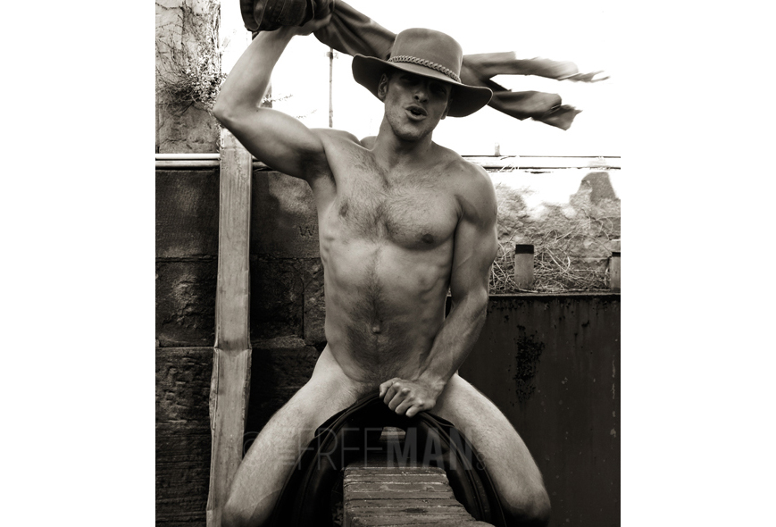 Country male nude