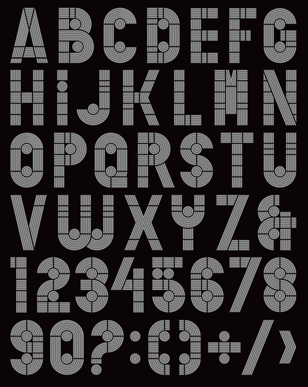 typographic: igarashi typeface