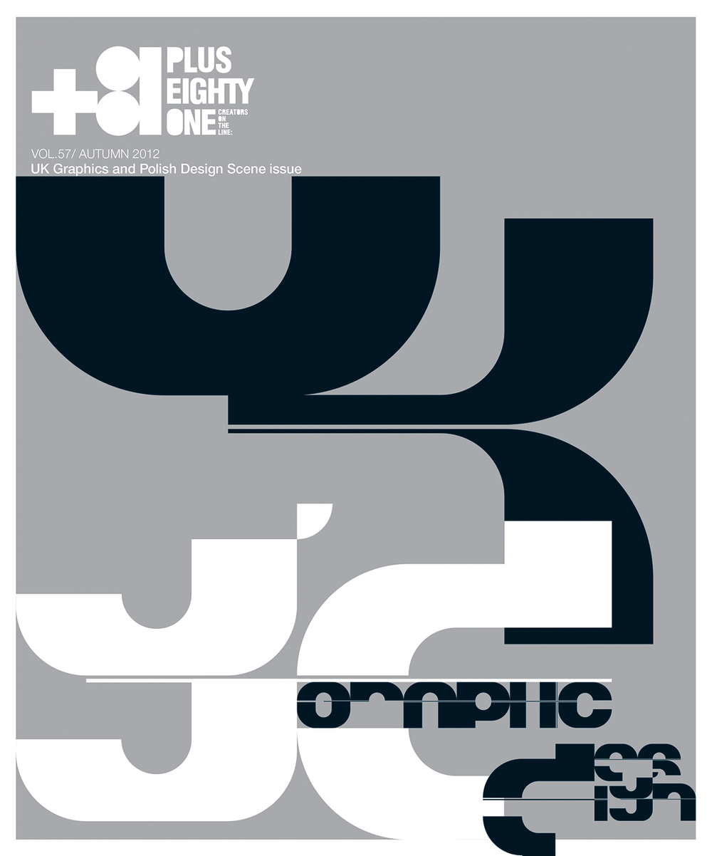 +81 - uk + polish graphic design