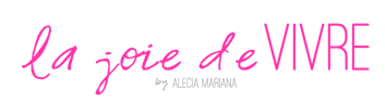Featured on Blogger Alecia Smith's 'La Joie de Vivre'