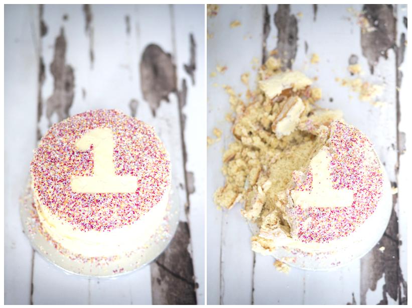 CAKE SMASH epicness!!