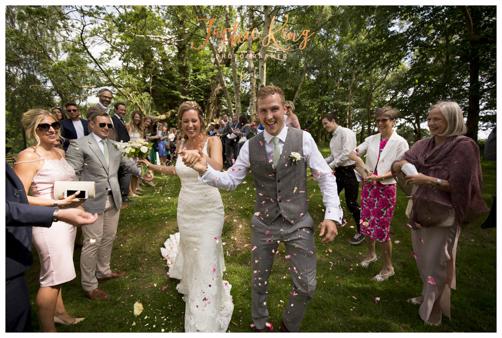 Just Married x (YES! CONFETTI!!)