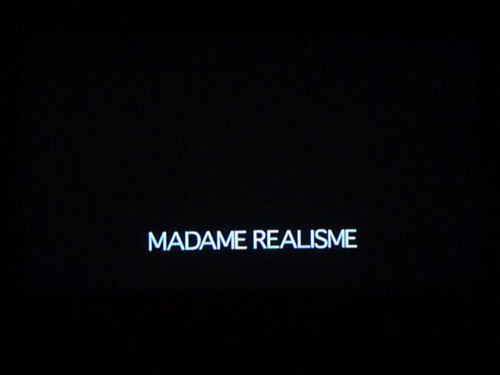Madame réalisme, capture d'écran, 2013