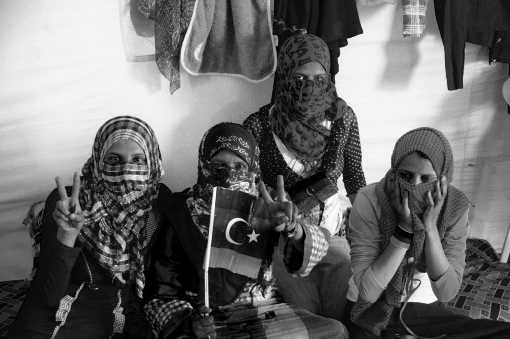 Refugees, Dhibat, Lybie, photographie numérique,2011
