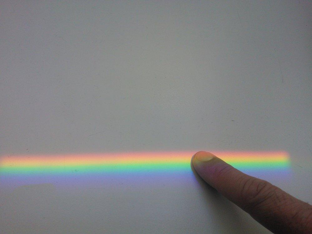 Rainbow, Thun, Suisse, photographie numérique, 2014