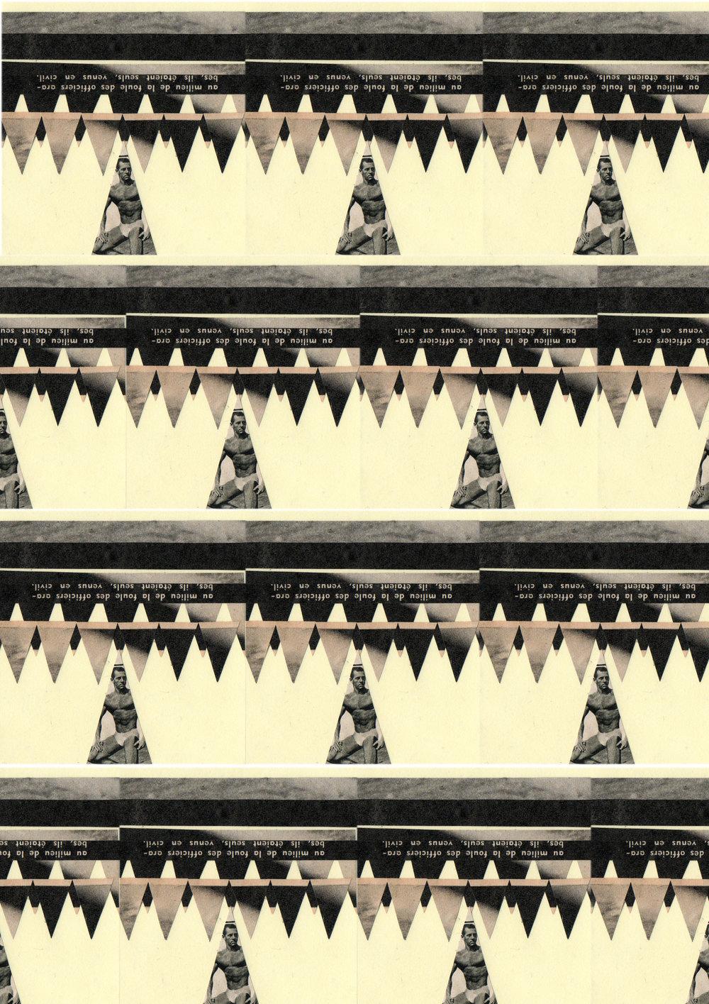 Up, collage numérique, 2013