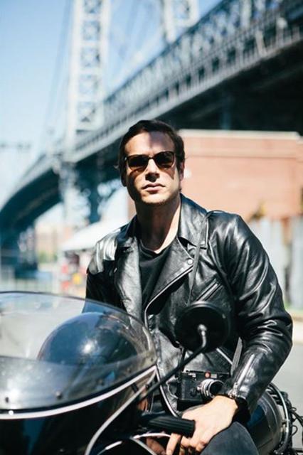 Renato D'agostin, Photographer, New York. Photography by Alessandro Simonetti