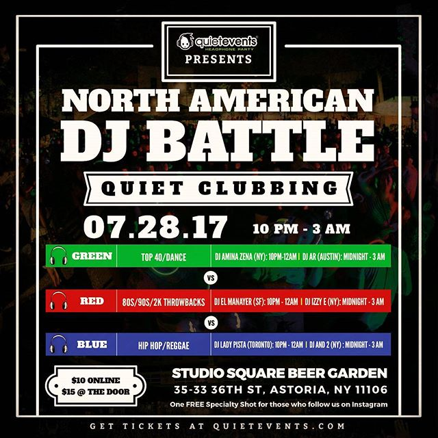 Tomorrow night it's #NewYorkCity vs everyone! I'm finally back at Studio Square reppin #TeamBlue in the first ever North American DJ battle. HMU for tickets and details! #TeamAnd2 #LetsGetIt