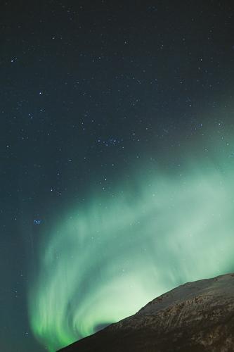 Polarlichter I Norwegen