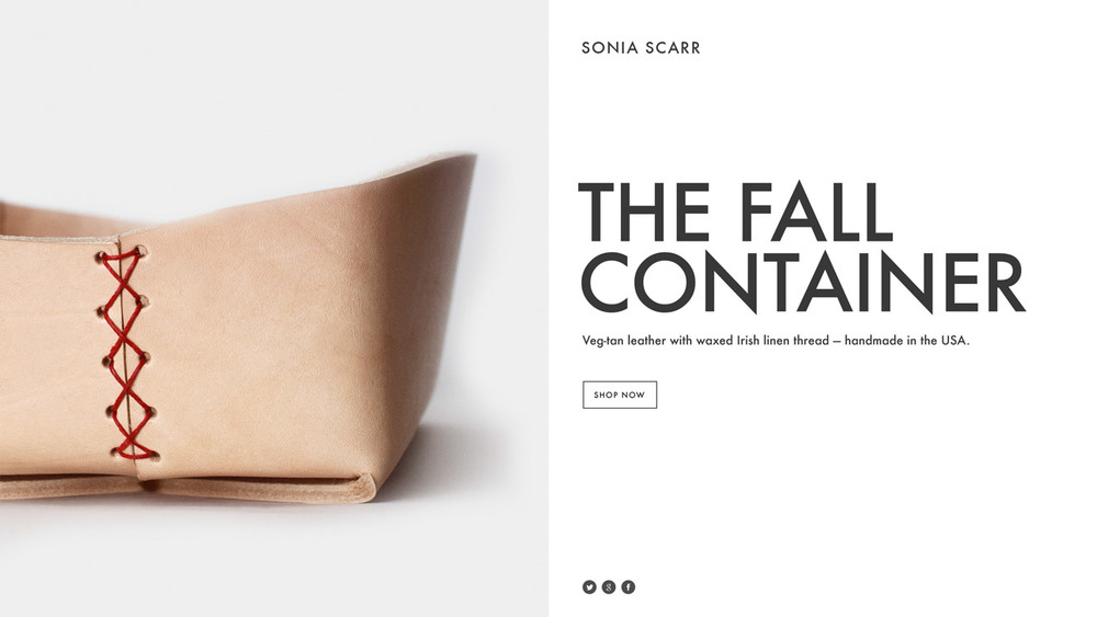 This is an example of a Squarespace COVER PAGE. They are basically landing pages you can create for a multitude of marketing purposes and funnels. I LOVE this because now you don't need to use a separate lead page generator to get gorgeous and effective landing pages. Saves the expense of third party applications like LeadPages.