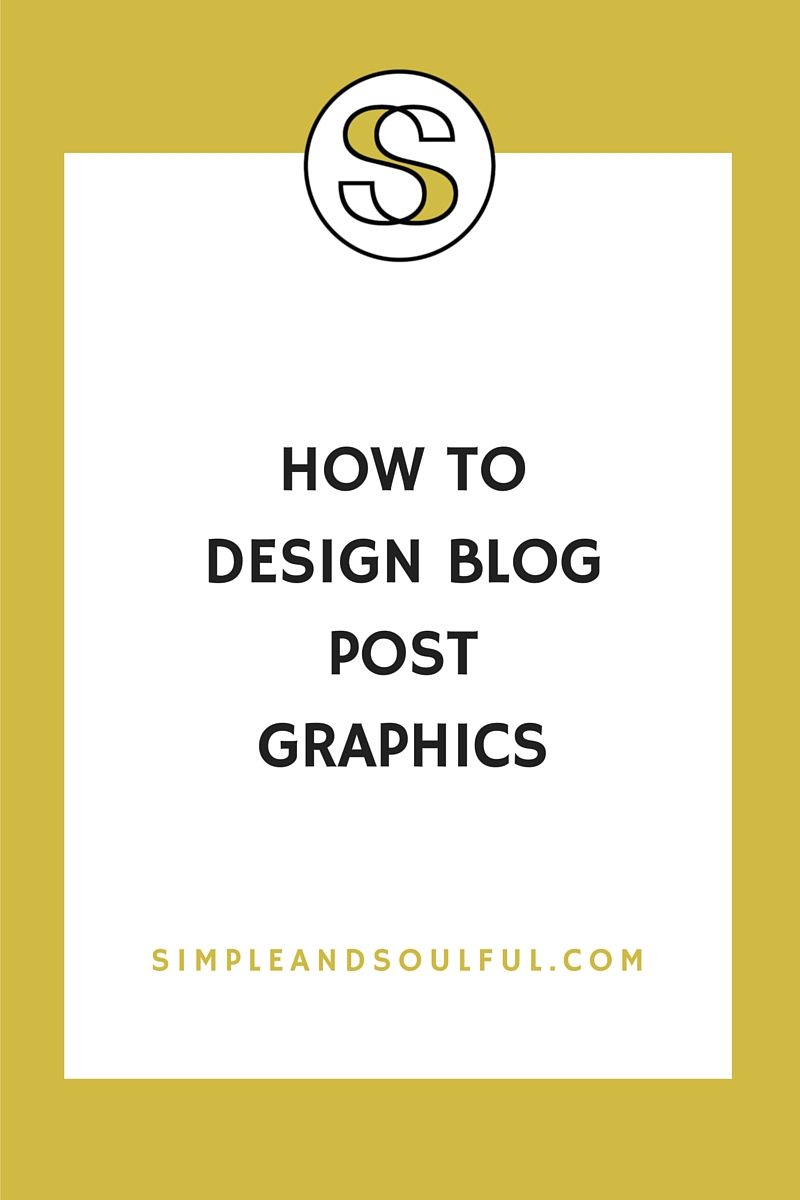 how to make blog post graphics for non-designers
