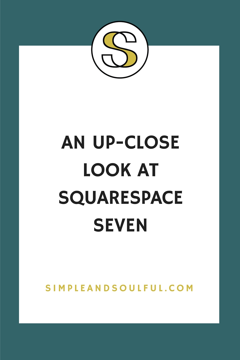 first impressions of squarespace 7