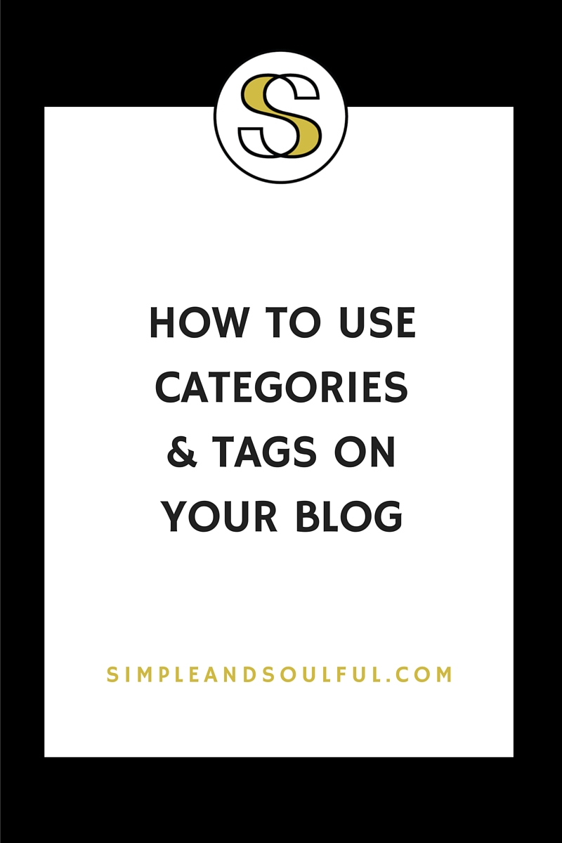why you need blog categories and tags