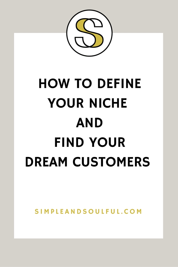 a soulful way to define your niche so your business can flow